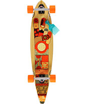 Gold Coast Origin 40 Pintail Longboard Complete
