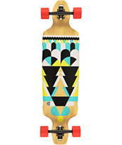 "Gold Coast Process 38"" Drop Through Longboard Complete"