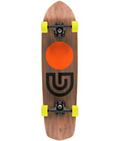 Gold Coast Slapstick Walnut Wood 31 Complete Cruiser Skateboard