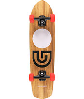 Gold Coast Slapstick Zebra Wood 31 Complete Cruiser Skateboard