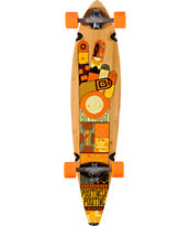 Gold Coast The Origin 40 Bamboo Pintail Longboard