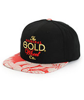 Gold Original Stack Snapback Hat