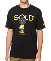 Gold Wheels Chuck Tee Shirt