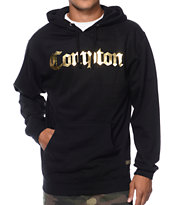 Gold Wheels Compton Black & Gold Pullover Hoodie
