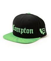 Gold Wheels Compton Tie Dye Snapback Hat