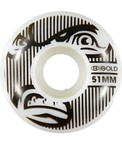Gold Wheels Goons 51mm Skateboard Wheels
