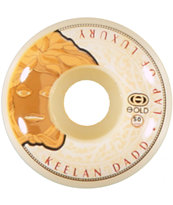 Gold Wheels Keelan Luxury 50mm Skateboard Wheels