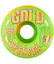Gold Wheels Spencer Drippy 52mm Skateboard Wheels