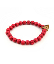 Goodwood NYC Arrow Head Red Bracelet