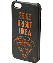 Goodwood NYC Bright Diamond Black Wood iPhone 5 Case