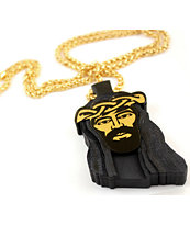 Goodwood NYC Jesus Piece Deluxe Gold Necklace