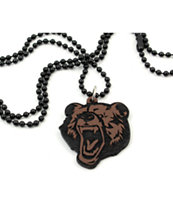 Goodwood NYC Micro Grizzly Deluxe Necklace