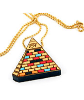 Goodwood NYC Pyramid Of Ra Necklace