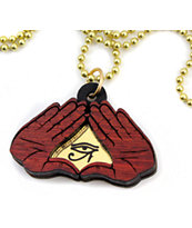 Goodwood NYC Secret Society Gold Bloodwood Necklace
