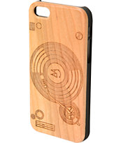 Goodwood NYC Turntables Cherry Wood iPhone 5 Case