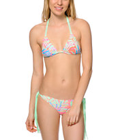 Gossip Ibiza Queen Fringe Side Tie Bikini Bottom