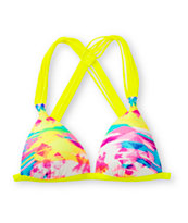 Gossip Mix Tape Molded Cup Bikini Top