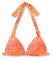 Gossip Pink Ombre Molded Cup Halter Bikini Top