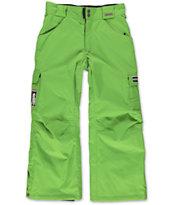Grenade Boys Army Corps Green 8K 2014 Snowboard Pants