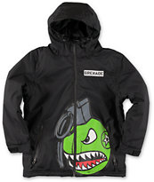 Grenade Boys Recruiter 8K Black 2014 Snowboard Jacket