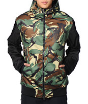 Grenade Camo Varsity Green 10K Snowboard Jacket