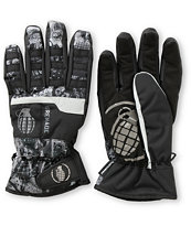 Grenade Fragment 2013 Guys Black Snowboard Gloves