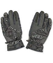 Grenade Fragment Grey 2014 Snowboard Gloves