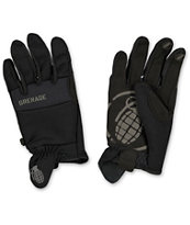 Grenade Murdered Out Black CC935 2014 Pipe Snowboard Gloves