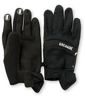 Grenade Murdered Out Black Pipe Snowboard Glove
