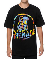 Grenade Painted Stenz Art T-Shirt