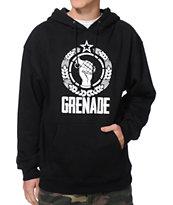Grenade Revolution Black Pullover Hoodie
