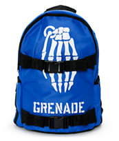 Grenade Skull Bomb Blue Backpack