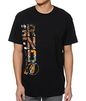 Grenade Stacked Kitty Black Tee Shirt
