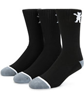 Grizzly 3 Pack Crew Socks