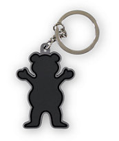 Grizzly Black Keychain