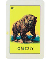 Grizzly El Grizzly Sticker