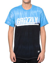 Grizzly Fire Tie Dye T-Shirt