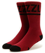 Grizzly Stamp Crew Socks
