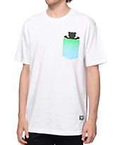 Grizzly Sunset Woods Pocket T-Shirt