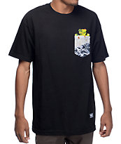 Grizzly Team Burrito Black Pocket T-Shirt