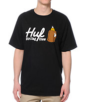 HUF 40 OZ Black T-Shirt