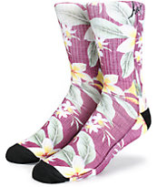 HUF Aloha Script Crew Socks