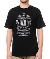 HUF Barrel Aged Black Tee Shirt