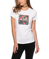HUF Black Aloha Box T-Shirt