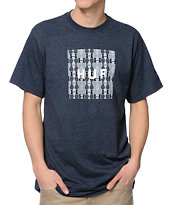 HUF Box Logo Fill Denim Tee Shirt
