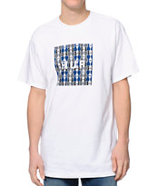 HUF Box Logo Fill White Tee Shirt