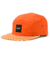 HUF Century Orange 5 Panel Hat