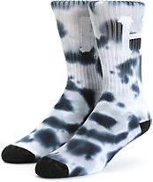 HUF Classic H Tie Dye Crew Socks