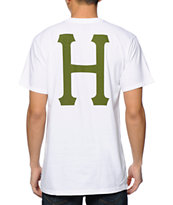 HUF Classic H White Pocket Tee Shirt