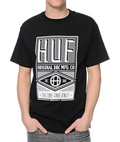 HUF DBC MFG Company Black Tee Shirt